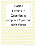 Bloom's Levels of Questioning Graphic Organizer