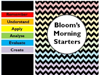 Bloom's Morning Starter Prompts