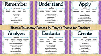 Blooms Posters {purple, green, blue}