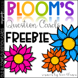 FREE - Bloom's Question Cards - Bloom's Taxonomy