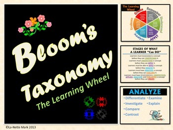 Bloom's Revised Taxonomy Poster Set