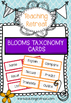 Blooms Taxnomy Posters/ labels