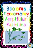 Blooms Taxonomy Amphibians Activities
