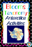 Blooms Taxonomy Antarctica Activities