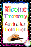 Blooms Taxonomy Australian Gold Rush Activities