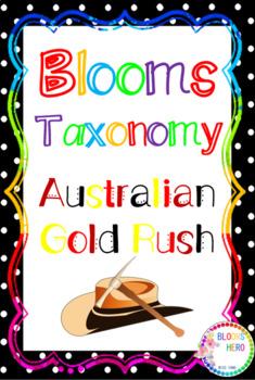 Blooms Taxonomy Australian Gold Rush Activities
