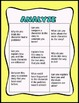 Bloom's Taxonomy BINGO for Reading  Comprehension