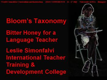 Bloom's Taxonomy: Bitter honey for a language teacher