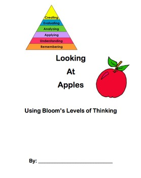 Bloom's Taxonomy Book Lesson