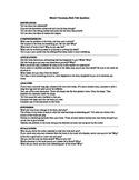Bloom's Taxonomy Book Talk Questions