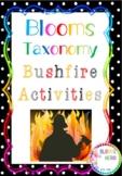 Blooms Taxonomy Bushfire Activities