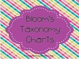 Blooms Taxonomy Charts Freebie
