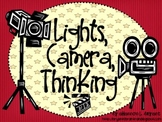 Movie Themed Bloom's Taxonomy Class Posters (Lights, Camera, Thinking!)