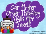 Candy Bloom's Taxonomy Posters (Our Higher Order Thinking Skills Are Sweet)