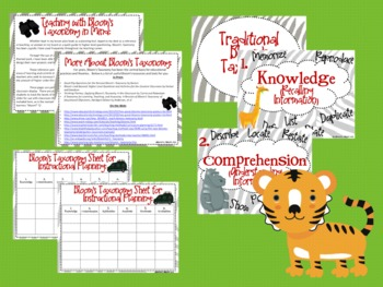"""Zoo Bloom's Taxonomy Class Posters (We Are """"Wild"""" about Higher Order Thinking!)"""