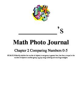 Bloom's Taxonomy Common Core Standards Math Photo Journals CC.6 W6 Kindergarten