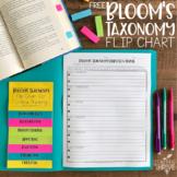 Bloom's Taxonomy Flip Chart {Freebie}!
