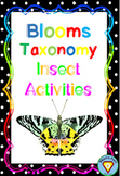 Blooms Taxonomy Insects Activities