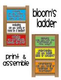 Bloom's Taxonomy Ladder