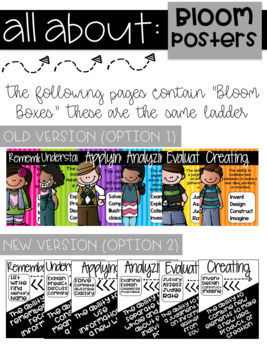 Bloom's Taxonomy Ladders: Increase Your Students' Thinking!