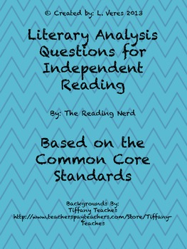 Bloom's Taxonomy Questions for Any Reading