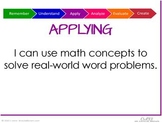 Bloom's Taxonomy Math Prompts