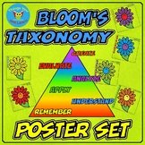 Bloom's Taxonomy Flower Posters