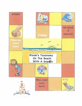 Bloom's Taxonomy On The Beach With A Sneetch