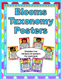 Blooms Taxonomy Posters