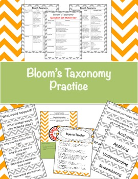 Bloom's Taxonomy Practice
