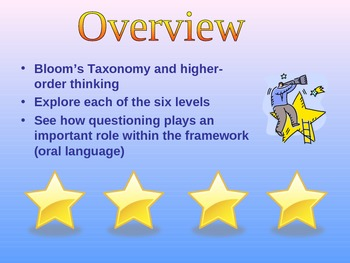 Bloom's Taxonomy Professional Development