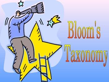 Bloom's Taxonomy Professional Development