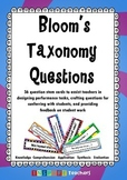 Bloom's Taxonomy Question Cards *FREEBIE!*