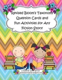Bloom's Taxonomy Text Talk Cards & Activities to Use with Any Fiction Book!
