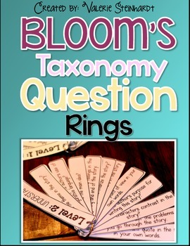 Bloom's Taxonomy Question Rings