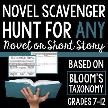Novel Scavenger Hunt: Based on Bloom's Taxonomy