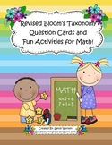 Math Talk Questions & Activities Using Bloom's Taxonomy For Any Word Problem!