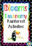 Blooms Taxonomy Rainforest Activities