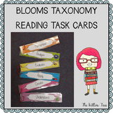 Bloom's Taxonomy Reading Task Cards