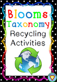 Blooms Taxonomy Recycling Activities