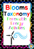 Blooms Taxonomy Renewable Energy Activities