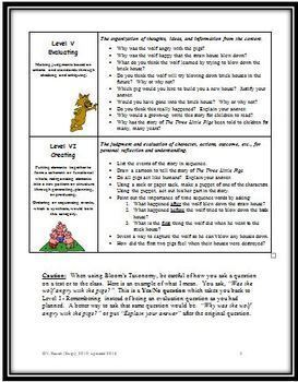 Bloom's Taxonomy: A Simple, User Friendly Version for Writing & Asking Questions