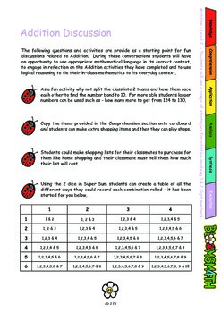 Bloomsmath Differentiated Addition Maths Activities for Year 1