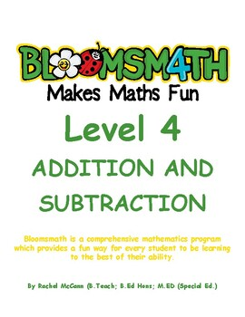 Bloomsmath Differentiated Addition & Subtraction Maths Activities for Year 3