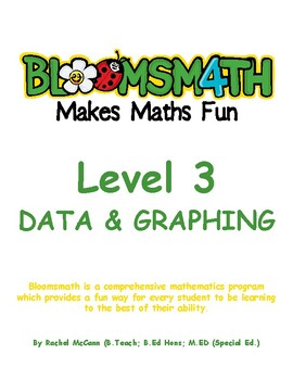 Bloomsmath Differentiated Data & Graphing Maths Activities for Year 2