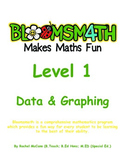 Bloomsmath Differentiated Data and Graphing Kindergarten M