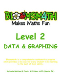Bloomsmath Differentiated Data and Graphing Maths Activities for Year 1
