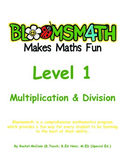Bloomsmath Differentiated Multiplication & Division Kinder