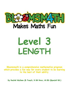 Bloomsmath Differentiated Length Maths Activities for Year 2