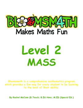 Bloomsmath Differentiated Mass Maths Activities for Year 1